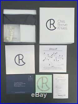 Chris Reeve Knife LG. Sebenza 31 New In Box