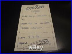Chris Reeve Knives, CRK, Large P Sebenza. N. I. B, Large P Sebenza, CRK