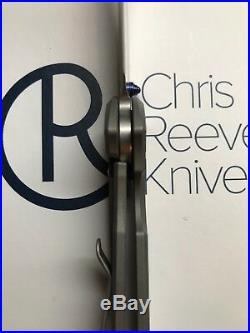 Chris Reeve Knives Crk Small Sebenza 21 Drop Point Plain 2018
