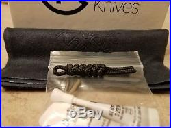 Chris Reeve Knives Large Inkosi Insingo Double Silver Lugs S35VN Blade Steel