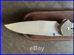 Chris Reeve Knives Large Sebenza 21 Carbon Fiber Inlays Blade HQ Exclusive