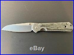 Chris Reeve Knives Large Sebenza 21 Insingo Black Micarta Right Handed