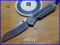 Chris Reeve Knives Large Sebenza 21 Insingo Micarta Authorized Dealer