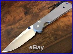 Chris Reeve Knives Large Sebenza 21 Plain Drop Point S35VN Authorized Dealer