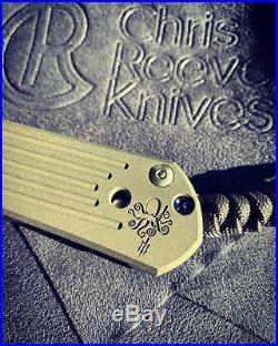 Chris Reeve Knives Large Sebenza 21 Prometheus Design Worx PDW SPD