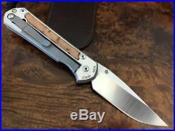Chris Reeve Knives Large Sebenza 21 S35VN Thuya Inlay Unit A