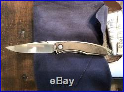 Chris Reeve Knives Mnandi Striped Platan S35VN Authorized Dealer Unit A