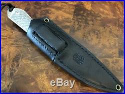 Chris Reeve Knives Nyala Insingo S35VN Black Micarta with Black Leather Sheath