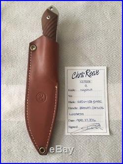 Chris Reeve Knives Nyala fixed blade with sheath