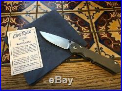 Chris Reeve Knives Sebenza 25 / CPM-S35VN Blade / Titanium Frame Lock