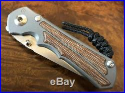 Chris Reeve Knives Small Inkosi Insingo S35VN Natural Canvas Micarta