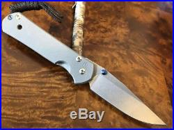 Chris Reeve Knives Small Sebenza 21 Drop Point Left Handed Authorized Dealer