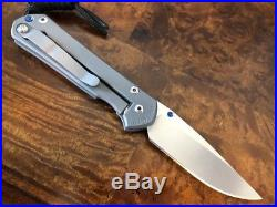Chris Reeve Knives Small Sebenza 21 Drop Point S35VN Authorized Dealer