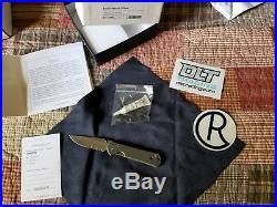 Chris Reeve Knives Small Sebenza 21 Partial Serration Double Thumb Lug (USED)