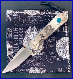 Chris Reeve knives CRK Large Sebenza 21 Lunar Landing