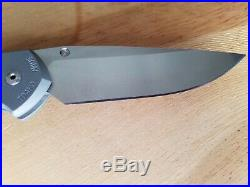 Chris Reeve large Sebenza 21 CGG Think Twice Code s35vn steel