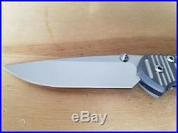 Chris Reeve small Sebenza 21 CGG Think Twice Code s35vn steel
