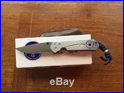 Chris Reeve small Sebenza 21 with unique graphics