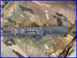 Crusader Forge G38 Street Fighter One of a Kind Thick Titanium Tactical Monster