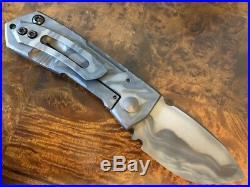 Crusader Forge Knife Metro Tactical CPM-S30V Phantom Camo Chisel Grind Unit C