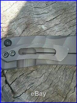 Crusader Forge VIS GR-38Ti Flipper in Cpm3v steel Folder Knife