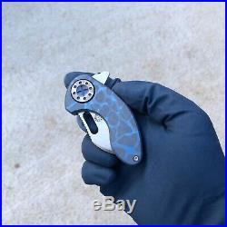 Curtiss Knives Custom Nano Flipper Anodized handle