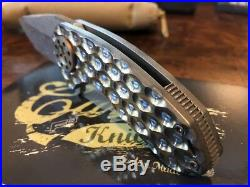 Curtiss Knives F3 Compact CG/PM/DAM Compound Grind Preacher Mill Damasteel