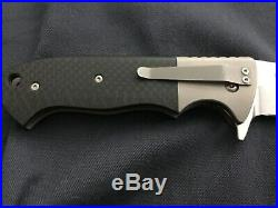 Custom Brian Tighe Vanguard #14 Flipper Folder Knife