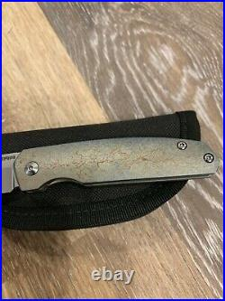 Custom Enrique Pena Caballero Front Flipper Knife