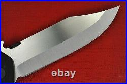 Custom Ernest Emerson Aftershock A Working Prototype Bowie Blade withWave Area 51