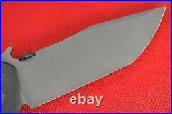 Custom Ernest Emerson Sig Legion Prototype Black Flipper Area 51 (1 of 4)