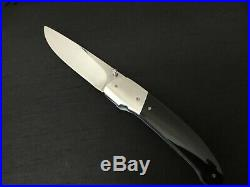 Custom George Muller LinerLock Folder Folding Knife