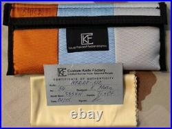 Custom Knife Factory MORRF- 3/2 Folding Knife, S35VN, Titanium\CF Frame, LIMITED