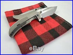 Custom Knife Factory Satori 2.0 Integral M390 - Authorized Dealer