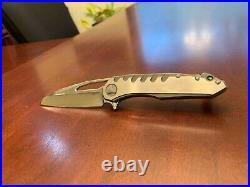 Custom Knife Sigil model with M390 blade TC4 handle
