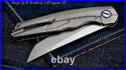 Custom Southard Shirogorov Russian Flippin Tanto