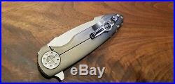 Custom knife Curtiss Knives cruze custom