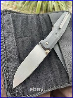Custom knife factory FIF20 Philippe Jourget front flipper