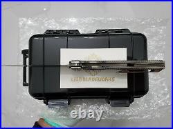 Custom made rare specter m390 steel blade titanium flipper tactical pocket knife