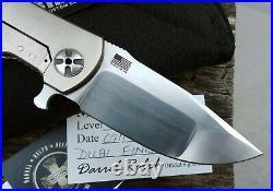 DDR Darrel Ralph Dominator Level 3.5 Compound S35VN Titanium Frame Lock Knife