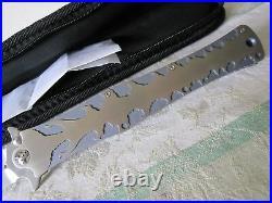 DDR darrel ralph mad maxx 7 gibbs withflames hand ground/hand satin custom knife