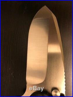 DIREWARE SOLO V6 Flipper, Ti handle with Marbled Carbon Fiber