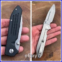 Dauntless Mk4 G10/Ti Flipper Folder Knife for Triple Aught Design / TAD Gear