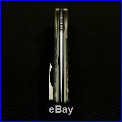 David Mosier / Liong Mah Collaboration GSD Custom Flipper Knife, Rare and Beauty
