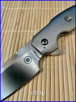 David Mosier Tashi design custom Sleak Not Strider or Hinderer