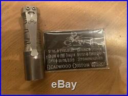 Deadwood Custom Works Huckleberry Torch Flashlight Titanium