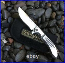 Dervish Knives Pocket Knife Alchemy Flipper TAD Gear USN Gathering Ltd Edition