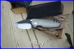 Direware Hyper 90 Flipper Folder Knife Multi-Grind with Mokuti Back Spacer