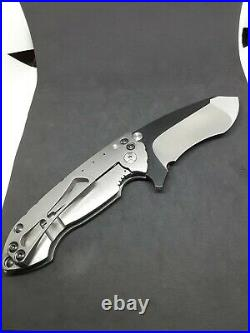 Direware -'Solo' Ti recurve tanto flipper folder withM390 blade steel