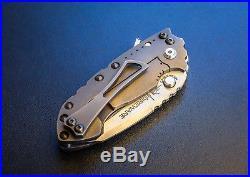 Direware Solo tactical flipper folding framelock custom knife